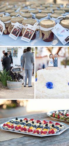 Rustic Spring Ranch Wedding in California   WeddingWire: The Blog