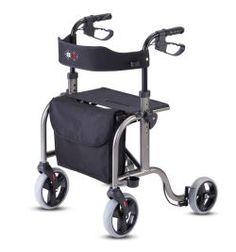 Bischoff Rollator Smart Leichtgewichts-Rollator mit großer Sitzfläche