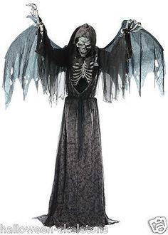 Angel of Death Animated Halloween Prop
