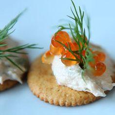 Creamy smoked salmon spread @ http://allrecipes.co.uk