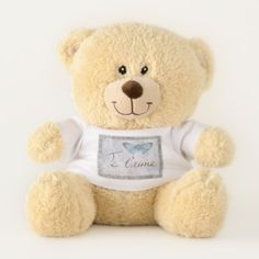 Je t'aime Valentines Day Teddy Bear - valentines day gifts gift idea diy customize special couple love