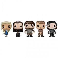 Game of Thrones Pop! Television Figurines, 4th Edition [Set of 5]