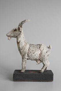 Andreas Hinder Keramik: Ziege