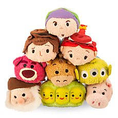 Mini peluches Toy Story de la collection Tsum Tsum