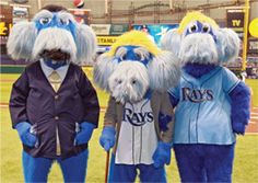 In honor of Father's Day, @RaysRaymond dad and grandfather made an appearance at The Trop