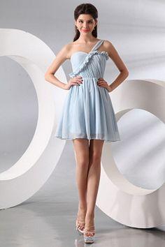 Elegant Ein-Schulter-A-Line Brautjungfern Kleid ba2821 - http://www.brautmode-abendkleid.de/elegant-ein-schulter-a-line-brautjungfern-kleid-ba2821.html - Ausschnitt: Eine Schulter. Stoff: Chiffon. Ärmel: Ärmellos. Farbe: Blau. Silhouette: A-Line. - 127.59