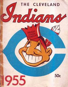 id:8FFA59BA17576A5AB8C01B26D3AF5C3C3C0F9AE0   Chief Wahoo Indians Program 1955   Chris Creamer's SportsLogos.Net ...