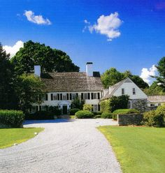 New Jersey country home.  Howard Slatkin