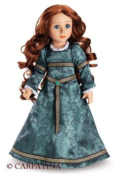 Rowena ~ Celtic Princess by Carpatina - another favourite brand - especially the gorgeous costumes.