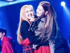 Rosé and Jennie