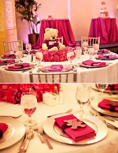 """glamorous baby shower 