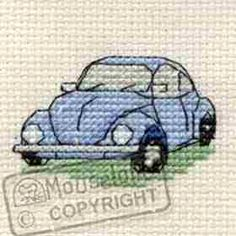 VW Beetle Cross Stitch Kit: Cross stitch (Mouseloft, 004-J01stl)