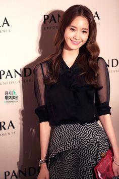 Yoona 140906 Pandora Gala Dinner HK