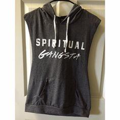 Spiritual Gangsta • Sleeveless hoodie Spiritual Gangsta sleeveless hoodie! Super soft material! Rue 21 Tops Sweatshirts & Hoodies