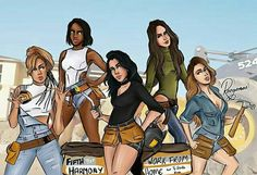 fifth harmony, 5h, and work from home image