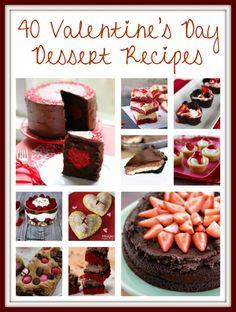 40 Valentine's Day Dessert Recipes - Gator Mommy Reviews
