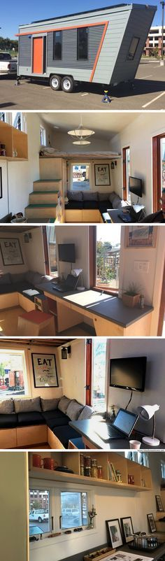 The Wedge: an off-grid tiny house, designed by students of Oakland's Laney College