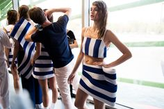 Behind the scenes at Jacquemus Spring 2015