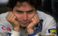 O brasileiro tricampeão mundial Nelson Piquet