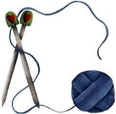 knitting needles clip art free knitting projects yarn stamps and rh pinterest com