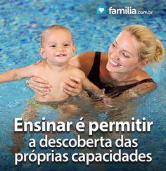 Familia.com.br | 10 dicas de como ensinar seu filho a nadar