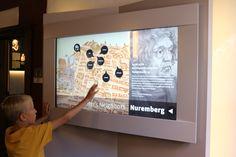 Nürnberg, interaktív térkép