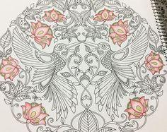 Criei coragem e resolvi pintar os famosos beijas flores da #johannabasford  by ro_fischer