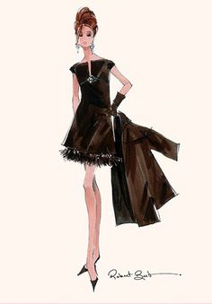 Robert Best Happy Go Lightly fashion doll Barbie illustration