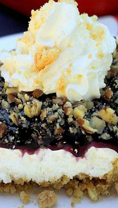 Blueberry Crumble Delight