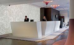 Hotel Sofitel Le Louise - Brussels (Belgium); design by architect Antoine Pinto, Photo by Sofitel #corian