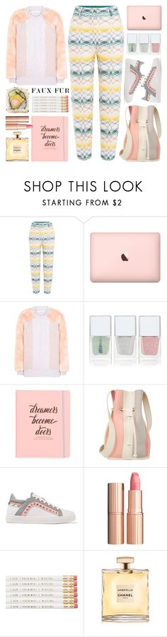 """""""Wow Factor: Faux Fur"""" by barbarela11 ❤ liked on Polyvore featuring Missoni, STELLA McCARTNEY, Nails Inc., Ultimate, 10 Crosby Derek Lam, Sophia Webster, Charlotte Tilbury, Chanel, Fall and autumn"""