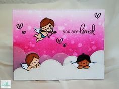 LB Card Creations: You are loved | Mama Elephant