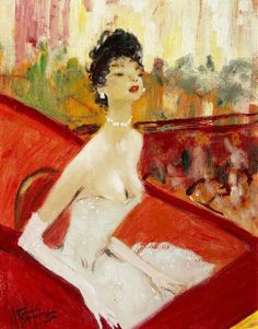 French Painting Jean-Gabriel Domergue