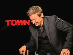 Jeremy Renner Interview with Ryan Shelton Talking about The Town - Ha ha ha the first 30 seconds of this video is effing hilarious!