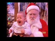 Video of kids that are scared of Santa. PLEASE DO NOT DO THIS TO YOUR KIDS!!!
