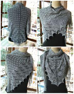 swallowtail in silver Knit Crochet, Knitting, Lace, Silver, Diy, Tops, Women, Fashion, Tejidos