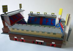 See amazing Lego versions of Anfield, Highbury, Goodison Park and more Premier League grounds Lego Sports, Crystal Palace Fc, Goodison Park, Legos, Cool Toys, Premier League, Red And Blue, Football, Amazing