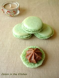 Macarons, Colors, Kitchen, Candy, Cooking, Colour, Kitchens, Cuisine, Macaroons