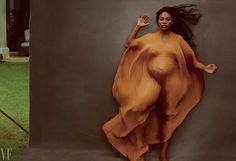 """""""I've been photographing Serena since she was 16 years old,"""" said Annie Leibovitz. """"It was wonderful to do these pictures at this stage of her life."""""""