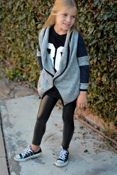 Pop Couture | Faux Leather Leggings (Toddler & Little Girls) | HauteLook