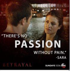Betrayal on ABC, my new favorite!!!!