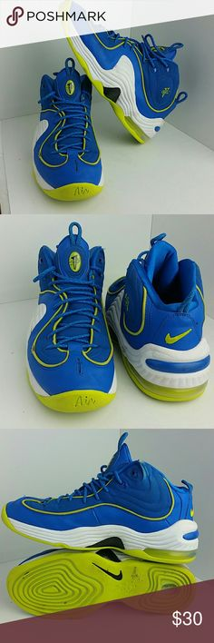 NIKE PENNY MEN'S SHOES IN GOOD CONDITION WITH MINOR SCUFFS   MISSING SIZE TAG   SKE # FM NIKE  Shoes Athletic Shoes