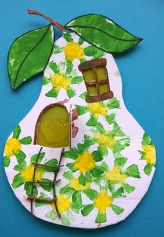 Meet The Creative Part of Me : There is only one you. Kids Crafts, Diy And Crafts, Paper Crafts, Diy Paper, Autumn Crafts, Spring Crafts, Seahorse Crafts, Fruit Art, Preschool Art