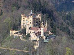Hoenschwangau Castle, right next door to Neuschwanstein.  Got some good pictures of this, too!