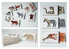 Купить или заказать Развивающая игра Окрас животных в интернет-магазине на Ярмарке Мастеров. В набор входит 9 карточек-пазлов, сделанных из фетра, а также 9 ламинированных карточек с уникальным рисунком животного. Задача - найти, кому какой окрас соответствует. Игра соединяет в себе элементы мемори и сортера. Игрушка хорошо подойдет для изучения животных, а также для развития памяти и абстрактного мышления у детишек от 3х лет. Есть также набор из 5 карточек для детей младшего возраста - от…