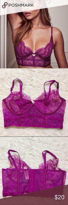 VS 34B Unlined Demi Bra Unlined Victoria's Secret Intimates & Sleepwear Bras
