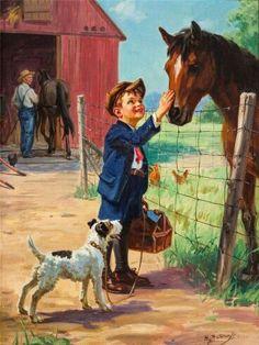 Horse farm.