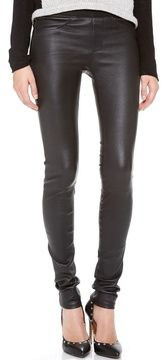 Helmut lang Stretch Leather Pants on shopstyle.com