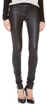 Helmut lang Stretch Leather Pants on shopstyle.com