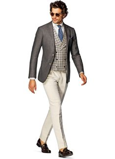 Suitsupply Jackets: We couldn't be more proud of our tailored jackets. Mens Tailored Suits, Tailored Fashion, Blazer Fashion, Mens Fashion Suits, Mens Suits, Mens Dress Trousers, Men Dress, Suit Supply, Smart Casual Wear